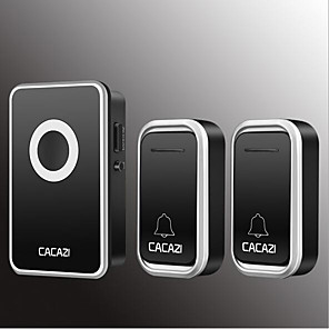 cheap Doorbell Systems-Wireless Two to One Doorbell Music / Ding dong Non-visual doorbell