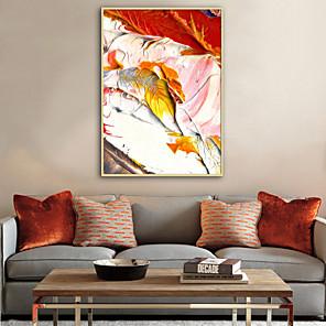 cheap Framed Arts-Framed Canvas Framed Set - Abstract Plastic Illustration Wall Art