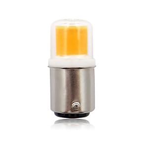 cheap Candle-Style Design-1pc 2.5 W LED Bi-pin Lights 200 lm BA15D 1 LED Beads COB New Design Warm White Cold White 220-240 V / RoHS