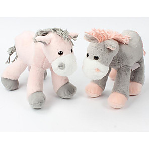 cheap Stuffed Animals-1 pcs Stuffed Animal Plush Toys Plush Dolls Stuffed Animal Plush Toy Horse Animals Cute Cotton / Polyester Imaginative Play, Stocking, Great Birthday Gifts Party Favor Supplies All Kids Teenager
