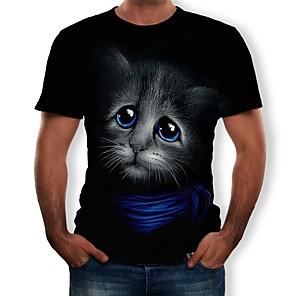 povoljno Cosplay za svaki dan-Inspirirana Poklade Cosplay T-majica Poly / Cotton Noviteti Inovativno Sa stilom Životinjski uzorak Za Uniseks