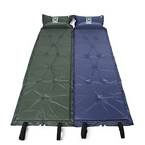 cheap Sleeping Bags & Camp Bedding-AOTU Inflatable Sleeping Pad Air Pad Outdoor Portable Anti-Slip Moistureproof Thick Terylene 185*55*2.5 cm Camping / Hiking Camping Camping / Hiking / Caving All Seasons Blue