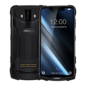 "cheap Cell Phones-DOOGEE S90 6.18 inch "" 4G Smartphone (6GB + 128GB 8 mp / 16 mp MediaTek MT6771 5050 mAh mAh) / Dual Camera"
