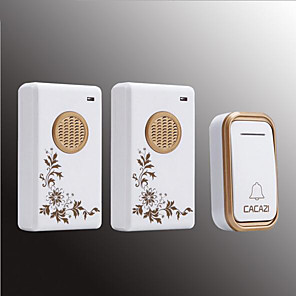 cheap Doorbell Systems-Wireless One to Two Doorbell Music / Ding dong Non-visual doorbell