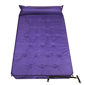 cheap Sleeping Bags & Camp Bedding-Self-Inflating Sleeping Pad Air Pad Outdoor Portable Moistureproof Comfortable Thick PVC / Vinyl 190*110 cm Camping / Hiking Camping Camping / Hiking / Caving All Seasons Violet