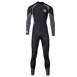 cheap Wetsuits, Diving Suits & Rash Guard Shirts-ZCCO Men's Full Wetsuit 1.5mm SCR Neoprene Diving Suit Thermal / Warm High Elasticity Back Zip - Diving Water Sports Camo / Camouflage Fashion Autumn / Fall Spring Summer / Winter