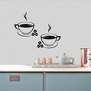 cheap Wall Stickers-Decorative Wall Stickers - Plane Wall Stickers Shapes Living Room / Bedroom / Kitchen