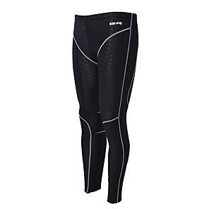 cheap Wetsuits, Diving Suits & Rash Guard Shirts-BANFEI Men's Dive Skin Leggings Bottoms Thermal / Warm Quick Dry Swimming Surfing Water Sports Patchwork Autumn / Fall Spring Summer / Winter / High Elasticity