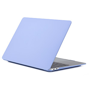 "cheap Mac Accessories-MacBook Case Solid Colored Plastic for Macbook Pro 13-inch / MacBook Air 13-inch / New MacBook Air 13"" 2018"