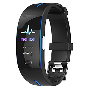 cheap Smart Wristbands-H66 PLUS Smart Wristband Bluetooth Fitness Tracker Support Notify/ ECG+PPG/ Heart Rate Monitor Sports Waterproof Smartwatch Compatible with iPhone/ Samsung/ Android Phones