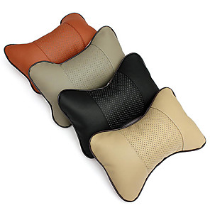 cheap Car Headrests&Waist Cushions-Car Headrests Headrests Black / Beige / Gray leatherette Business For universal All years All Models