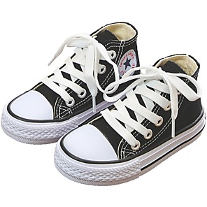 cheap Men's Bags-Girls' Comfort Canvas Sneakers Toddler(9m-4ys) / Little Kids(4-7ys) / Big Kids(7years +) White / Black / Yellow Spring &  Fall