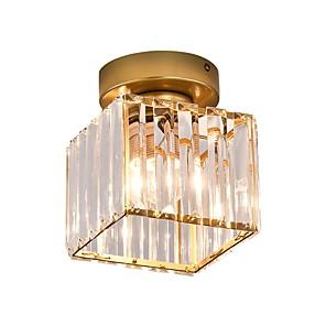 cheap Ceiling Lights-1-Light 15 cm Crystal / Mini Style / Cute Flush Mount Lights Metal Crystal / Novelty Painted Finishes Chic & Modern / Modern 110-120V / 220-240V / E26 / E27