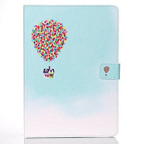 cheap iPad case-Case For Apple iPad Mini 5 / iPad New Air(2019) / iPad Mini 3/2/1 Wallet / Card Holder / with Stand Full Body Cases Balloon Hard PU Leather
