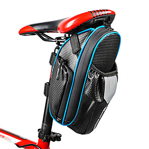 cheap Bike Frame Bags-WEST BIKING® 1.8 L Bike Saddle Bag Reflective Waterproof Lightweight Bike Bag Waterproof Material Bicycle Bag Cycle Bag Cycling Outdoor Exercise Bike / Bicycle