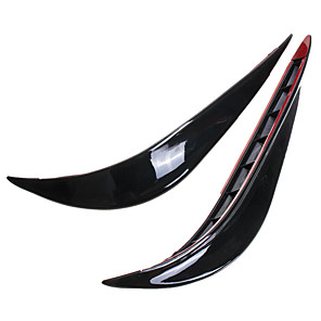 cheap Car Body Decoration & Protection-0.3 m Car Bumper Strip for Car Front Bumper External ABS For universal All years All Models