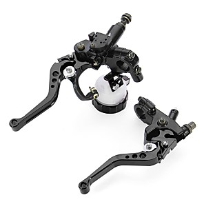 cheap Motorcycle & ATV Parts-7/8inch Universal Motorcycle Front Brake Clutch Lever Master Cylinder Reservoir