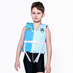 cheap Wetsuits, Diving Suits & Rash Guard Shirts-ZCCO Life Jacket Lightweight Quick Dry Neoprene EPE Foam Swimming Sailing Rafting Life Jacket for Kids