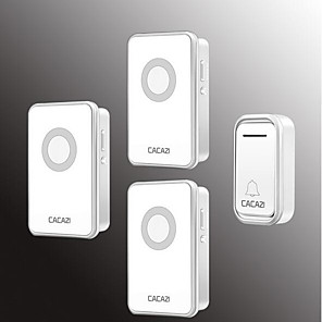 cheap Doorbell Systems-Wireless One to Three Doorbell Music / Ding dong Non-visual doorbell