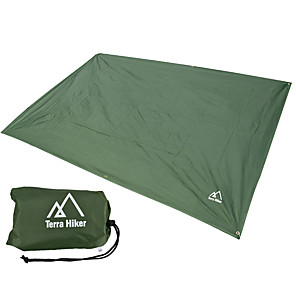 cheap Sleeping Bags & Camp Bedding-AOTU Tent Tarps Outdoor Multifunctional Portable Ultra Light (UL) Wearproof Oxford Cloth Camping / Hiking Climbing Outdoor All Seasons Army Green