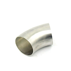 povoljno Ispušni sustavi-2,5 inča 63mm od nehrđajućeg čelika 45 stupnjeva ispušnih savijanja cijevi