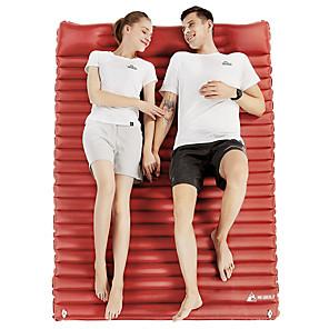 cheap Sleeping Bags & Camp Bedding-Hewolf Inflatable Sleeping Pad Air Pad Outdoor Portable Lightweight Moistureproof Wear Resistance Pongee 182*139*9 cm Camping / Hiking Climbing All Seasons Army Green Burgundy