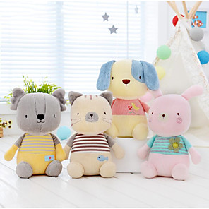cheap Stuffed Animals-1 pcs Stuffed Animal Plush Toys Plush Dolls Stuffed Animal Plush Toy Rabbit Cat Dog Animals Cute Nonwoven Cotton Imaginative Play, Stocking, Great Birthday Gifts Party Favor Supplies All Kids Toddler