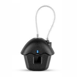 cheap Fingerprint Padlock-Zinc Alloy Fingerprint Padlock Smart Home Security System Fingerprint unlocking / Low battery reminder Household / Home / Home / Office Others / Wooden Door / Composite Door (Unlocking Mode