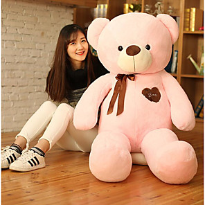 cheap Stuffed Animals-Stuffed Animal Plush Toys Plush Dolls Stuffed Animal Plush Toy Bear Teddy Bear Animals Cute Giant Big Cotton / Polyester 60cm Imaginative Play, Stocking, Great Birthday Gifts Party Favor Supplies All
