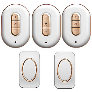 cheap Outdoor IP Network Cameras-Wireless Two to Three Doorbell Music / Ding dong Non-visual doorbell Surface Mounted