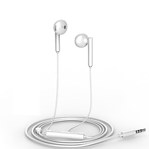 cheap Wired Earbuds-Huawei AM115 Wired In-ear Earphone Wired with Microphone with Volume Control for Mobile Phone