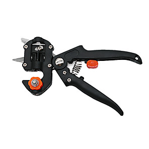cheap Novelties-Grafting Machine with 2 Blades Tree Secateurs Grafting Tool Cutting Pruner