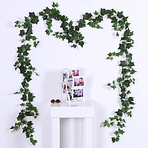 cheap LED String Lights-Artificial Plants Plastic Traditional / Classic Vine Wall Flower Vine 1