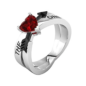 cheap Wetsuits, Diving Suits & Rash Guard Shirts-Women's Ring 1pc Red Alloy Birthday Gift Jewelry Lovely