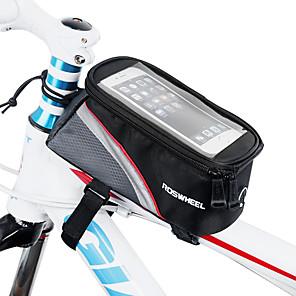 cheap Bike Frame Bags-ROSWHEEL Cell Phone Bag Bike Frame Bag Top Tube 5.5 inch Touch Screen Cycling for iPhone 8 Plus / 7 Plus / 6S Plus / 6 Plus iPhone X iPhone XR Red Green Blue Cycling / Bike / iPhone XS