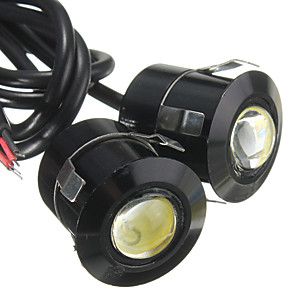 cheap Car Decoration Lights-2pcs Wire Connection Motorcycle / Car Light Bulbs 9 W 100 lm 3 LED Fog Lights / Daytime Running Lights / Brake Lights For Toyota / Benz / Honda All Models All years