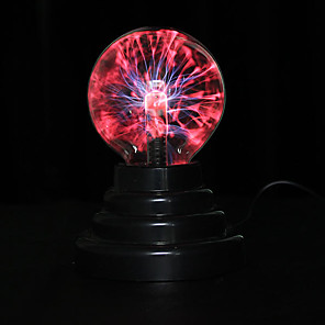 cheap Novelty Gadgets-STEM USB Plasma Ball Sphere Lightning Light Magic Crystal Lamp Globe Laptop Decor Novelties Toys