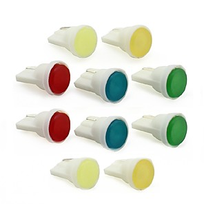 cheap Car Interior Lights-10pcs T10 / W5W Car Light Bulbs 1 W COB 100 lm 1 LED Interior Lights For universal All years