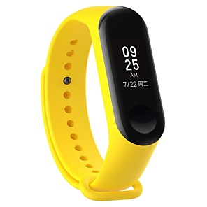 cheap Smartwatch Bands-Watch Band for Mi Band 3 Xiaomi Sport Band Rubber Wrist Strap