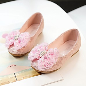 c503d457c822 ADOR® Girls' Shoes PU(Polyurethane) Spring Flower Girl Shoes Flats Bowknot  for