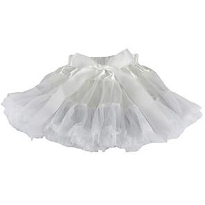cheap Historical & Vintage Costumes-Petticoat Hoop Skirt Tutu Under Skirt 1950s Satin Blue Pink Fuchsia Petticoat / Kid's / Crinoline