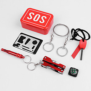 cheap Travel Security-First Aid Kit / Tools & Accessories Portable / Travel Accessories for Emergency Metal 9.5*6.5*3 cm
