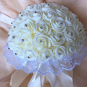 cheap Wedding Flowers-Wedding Flowers Bouquets Wedding Foam 21-30 cm