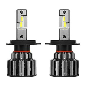 cheap Car Headlights-2pcs H7 / H4 / H11 Car Light Bulbs 35 W 2 LED Headlamps For universal / Toyota / Benz All Models All years