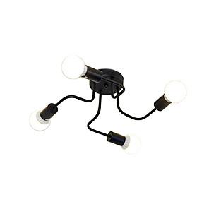 cheap Ceiling Lights-4-Light 41 cm New Design Chandelier Metal Sputnik Painted Finishes Modern 110-120V / 220-240V / E26 / E27