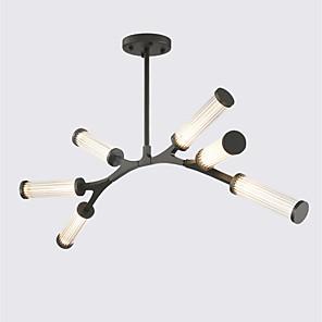 cheap Pendant Lights-ZHISHU 6-Light 106 cm Creative / New Design Chandelier Metal Glass Geometrical / Novelty Painted Finishes Nature Inspired / Retro 110-120V / 220-240V