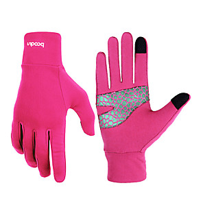 cheap Fitness Gear & Accessories-boodun Workout Gloves Lycra® Durable Breathable Sweat Control Stress Relief Exercise & Fitness Gym Workout For Men Women Finger Sports Outdoor