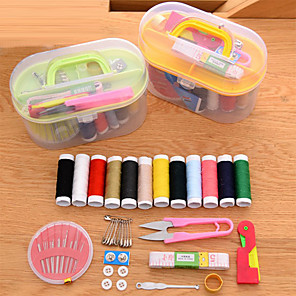 cheap Travel Security-Travel Sewing Kit Multi-function / Convenient Plastic / Metal 14.5*7*9.5 cm