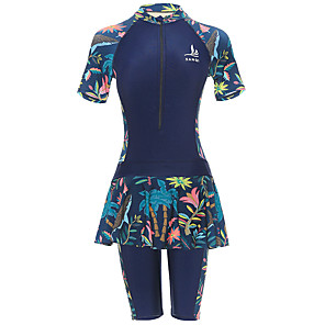 cheap Wetsuits, Diving Suits & Rash Guard Shirts-Women's Rash Guard Dive Skin Suit Diving Suit Stretchy Swimming Classic / High Rise