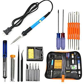 cheap Soldering Iron & Accessories-60W Electric Soldering Iron Welding Tool Kit Solder Wire Tweezer